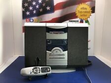 White-Westinghouse MWC-13221 Vertical AM FM CD Cassette Stereo System w/ Remote