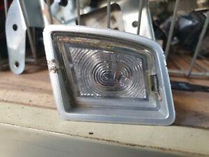 VW BEETLE NUMBER PLATE LIGHT PASSENGER SIDE SILVER