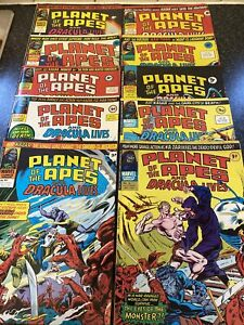 Planet Of The Apes 1976 Comics Nos 89 To 98