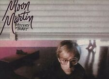 MOON MARTIN disco LP 33 MYSTERY TICKET stampa ITALIANA 1981 ITALY Robert Palmer