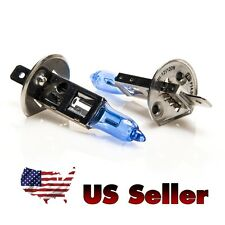 Halogen Bulbs - H1 12v 100W 5000K Auto Headlight (Pair), Super White, US Seller