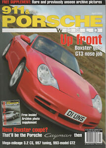 911 & PORSCHE WORLD 133 2005 993 GT2 996 CARRERA 4S 997 CARRERA S CABRIOLET 968