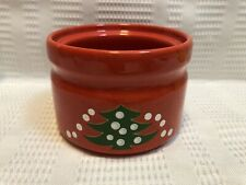 "Waechtersbach- ""Christmas Tree"" Sugar Bowl/Red/Green/White (NO LID) Replacement"