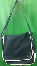 Roxy Quicksilver LARGE Denim Cross Body Shoulder Purse Messenger Book Bag EUC