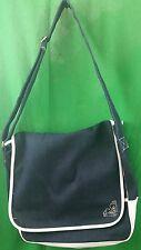 Roxy Quicksilver LARGE Denim Cross Body Shoulder Purse Messenger Book Bag EUC