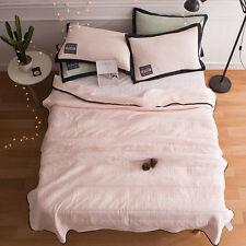 Washing cotton soft quilt Thin blanket summer air conditioning comforter queen