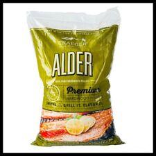 TRAEGER Alder Wood Pellets Flavored Grilling Fuel BBQ Smoking Cooking 20 lb Bag