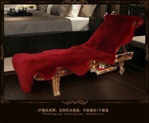 100% Genuine Real Natural Sheepskin Fur Rug Lambskin Sofa Plat Mat  Floor Carpet