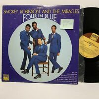 Smokey Robinson Miracles- Four In Blue- Tamla 297 VG+/VG+ Soul LP