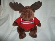 "American Eagle Mac Moose Gift Card Backpack 19""  Plush Soft Toy Stuffed Animal"