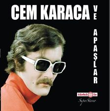 TURKISH PSYCH FUZZ E-ROCK LP - CEM KARACA ve APASLAR 1960's 1970's - SEALED LP