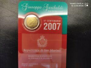 2 EUROS SAN MARIN 2007 GIUSEPPE GARIBALDI