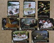 Q020 - Fotosatz ANACONDAS Die Jagd nach die Blut-Orchidee 2004