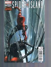 Spider-Island Secret Wars #2 Tie-In Dell'Otto 1:25 Variant Cover Marvel  2015