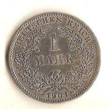 Vorzügliche 1 Markmünzen Silbermünzen aus dem Deutschen Kaiserreich (1891-1916)