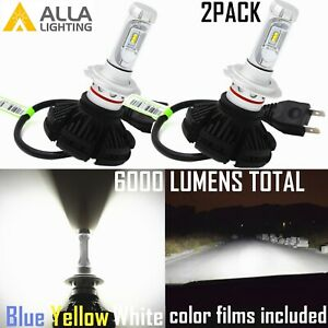 Alla Lighting Super Short LED H7 Cornering Light Bulb,Bright White 6000K Replace