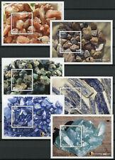 Malawi 2018 MNH Gemstones Kynite Emerald 6x 1v S/S Minerals Nature Stamps