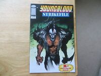 1993 IMAGE ROB LIEFELD'S YOUNGBLOOD STRIKEFILE # 1 SIGNED JAE LEE ART WITH COA
