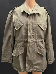 Dutch Military Olive Green Wahler Combat Jacket With Wool Liner