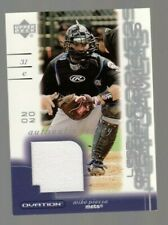 Mike Piazza 2002 Upper Deck Ovation Lead Performers Game Worn Jersey