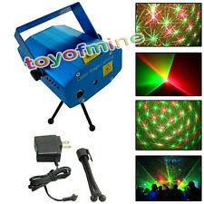 5 x 3 x 2 Inch Mini Projector DJ Disco Light Stage R&G Party Laser Lighting Plug