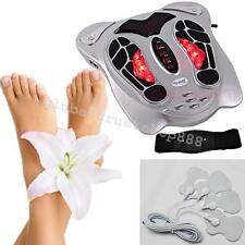 New Wave Pulse Circulation Foot Massager Reflexology Booster Home Relax Device