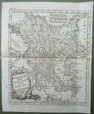 Map Greece With Northern Provinces Towards the Danube T Kitchen 1800