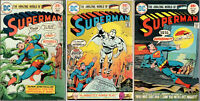SALE! Superman #285, 286, 287 ~ Mar, Apr, May 1975 ~ Very Nice Copies!