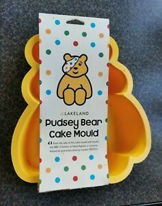 Lakeland BBC Pudsey Bear Charity Cake Mould NEW with labels attached