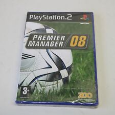 PREMIER MANAGER 08 - FOOTBALL - SONY PS2 PLAYSTATION 2 GAME - NEW & SEALED