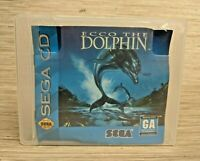 Echo the Dolphin Sega CD Video Game with Manual Untested