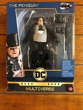DC Multiverse Deluxe Action Figure  DeVito Penguin Batman Returns Keaton Burton
