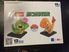 Monster Micro Diamond Blocks Pokemon lego