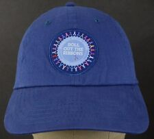 Blue  Roll out the ribbons baseball hat cap uniform patch adjustable