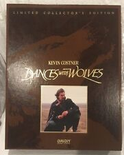 Dances With Wolves Limited Collector's Edition VHS Box Set, Like New