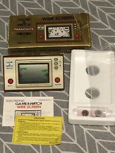 Nintendo Game & Watch Wide Screen  Parachute (PR-21) - Boxed