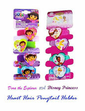 96 Stück Disney Prinzessin & Dora The Explorer Herz Haare Ponys On 24 Display
