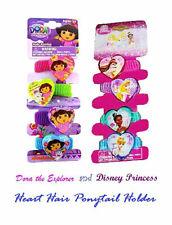96 Pezzi Disney Principesse & Dora The Explorer Cuore Capelli Pony On 24