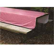 """Camco Vinyl Tablecloth for RV / Camper / Motorhome / 5th Wheel (52"""" x 84"""")"""