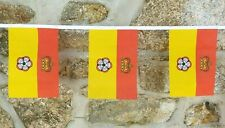 Hampshire County Flag Polyester Bunting - Various Lengths
