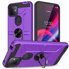 For T-Mobile REVVL 4/4+/REVVL 5G Case Shockproof Magnetic Ring Kickstand Cover