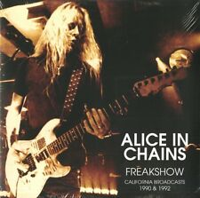 ALICE IN CHAINS FREAKSHOW CALIFORNIA BROADCAST 1990 & 1992 DOPPIO VINILE LP