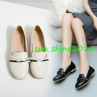 Women's Ballet Flats Court SHOES Bowties slip On Round Tow Work safety shoes