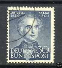 1953 Germany SC#695 Justus von Liebig chemist~