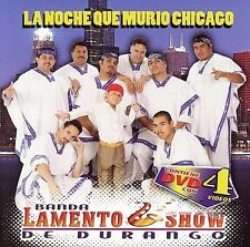 NEW / Sealed Cd Banda Lamento Show De Durango, La Noche Que Murio Chicago