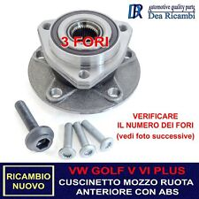 Cuscinetto Ruota Anteriore per VW GOLF V 1K, VI 5K, PLUS V 5M, 03-13 AMVW013