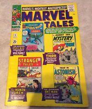 Marvel Tales # 4 September 1966 Stan Lee Steve Ditko Spider-Man Thor Ant-Man