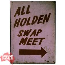 All Holden Swap Meet - Metal Wall Sign for Garage Workshop Business 20x30cm