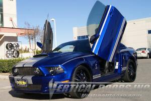 Vertical Doors - Vertical Lambo Door Kit For Ford Mustang 2011-14 -VDCFM11