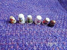 Lot of 10 Different Thimbles